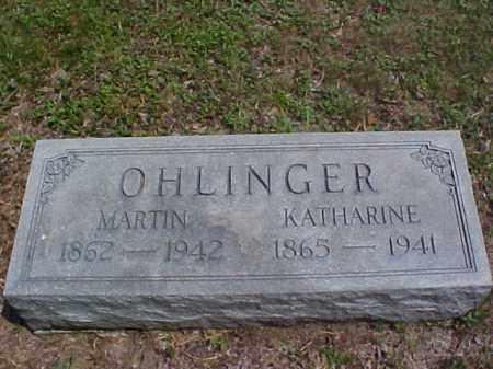 OHLINGER, KATHARINE - Meigs County, Ohio | KATHARINE OHLINGER - Ohio Gravestone Photos