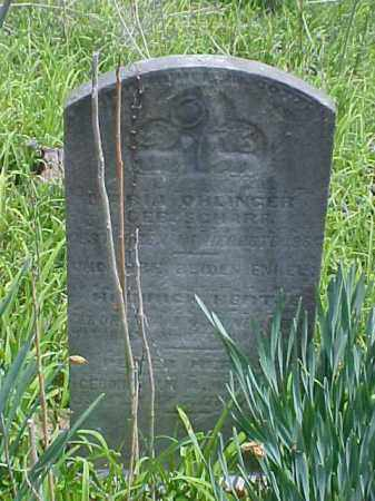 OHLINGER, HEINRICH - Meigs County, Ohio | HEINRICH OHLINGER - Ohio Gravestone Photos