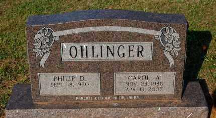 OHLINGER, CAROL A. - Meigs County, Ohio | CAROL A. OHLINGER - Ohio Gravestone Photos
