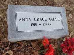 DIDDLE OILER, ANNA GRACE - Meigs County, Ohio | ANNA GRACE DIDDLE OILER - Ohio Gravestone Photos
