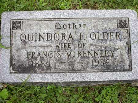 OLDER, QUINDORA F. - Meigs County, Ohio | QUINDORA F. OLDER - Ohio Gravestone Photos