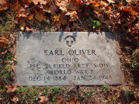 OLIVER, EARL - Meigs County, Ohio | EARL OLIVER - Ohio Gravestone Photos