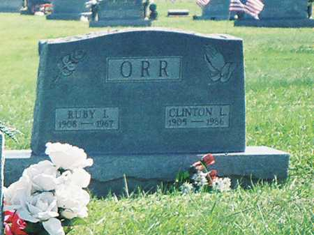 ORR, CLINTON L. - Meigs County, Ohio | CLINTON L. ORR - Ohio Gravestone Photos