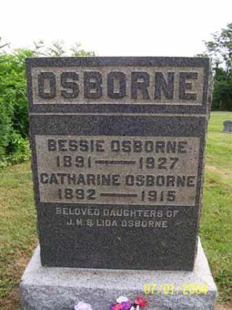 OSBORNE, BESSIE - Meigs County, Ohio | BESSIE OSBORNE - Ohio Gravestone Photos
