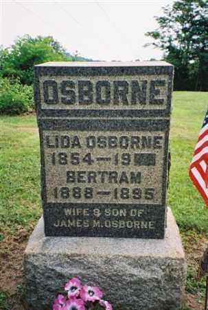 OSBORNE, BERTRAM - Meigs County, Ohio | BERTRAM OSBORNE - Ohio Gravestone Photos