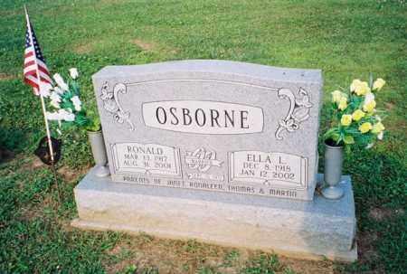 QUEEN OSBORNE, ELLA LESSYE - Meigs County, Ohio | ELLA LESSYE QUEEN OSBORNE - Ohio Gravestone Photos