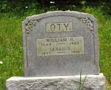 OTY, WILLIAM H. - Meigs County, Ohio   WILLIAM H. OTY - Ohio Gravestone Photos