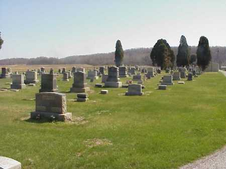 OVERVIEW #2, LETART CEMETERY - Meigs County, Ohio | LETART CEMETERY OVERVIEW #2 - Ohio Gravestone Photos