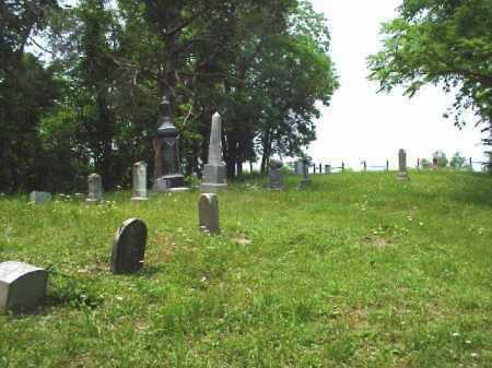 OVERVIEW, LONGSTRETH CEMETERY - Meigs County, Ohio | LONGSTRETH CEMETERY OVERVIEW - Ohio Gravestone Photos