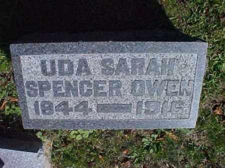OWEN, UDA SARAH - Meigs County, Ohio | UDA SARAH OWEN - Ohio Gravestone Photos