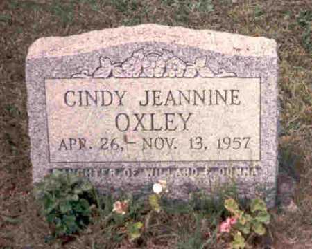 OXLEY, CINDY JEANNINE - Meigs County, Ohio | CINDY JEANNINE OXLEY - Ohio Gravestone Photos