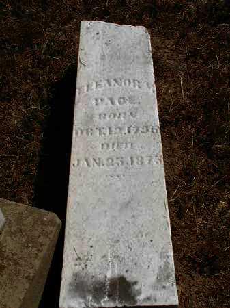 PACE, ELEANOR M. - Meigs County, Ohio   ELEANOR M. PACE - Ohio Gravestone Photos
