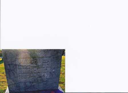 PARKER, MAJOR L - Meigs County, Ohio   MAJOR L PARKER - Ohio Gravestone Photos