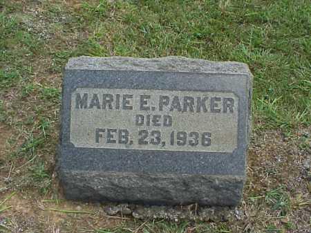 PARKER, MARIE E. - Meigs County, Ohio | MARIE E. PARKER - Ohio Gravestone Photos