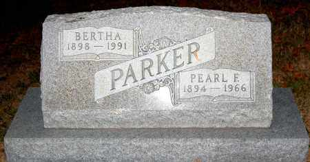 PARKER, BERTHA - Meigs County, Ohio | BERTHA PARKER - Ohio Gravestone Photos