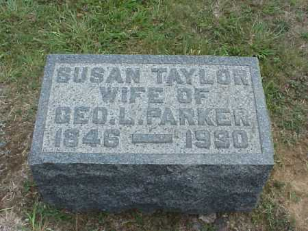 TAYLOR PARKER, SUSAN - Meigs County, Ohio | SUSAN TAYLOR PARKER - Ohio Gravestone Photos