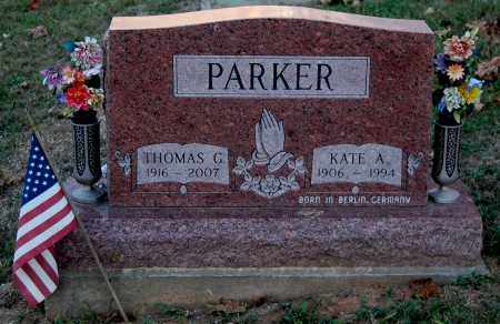 PARKER, THOMAS G. - Meigs County, Ohio | THOMAS G. PARKER - Ohio Gravestone Photos