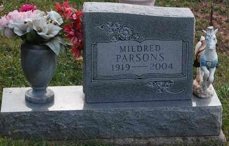 PARSONS, MILDRED - Meigs County, Ohio | MILDRED PARSONS - Ohio Gravestone Photos