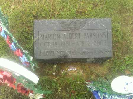 PARSONS, MARION - Meigs County, Ohio | MARION PARSONS - Ohio Gravestone Photos