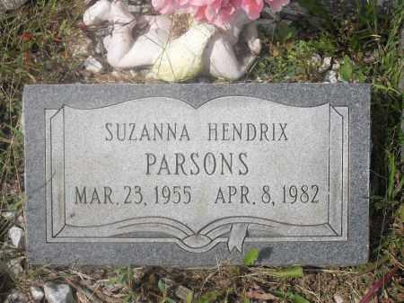PARSONS, SUZANNA - Meigs County, Ohio | SUZANNA PARSONS - Ohio Gravestone Photos