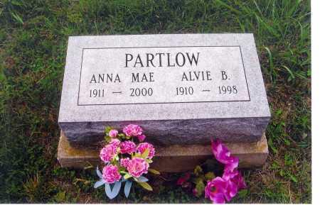 BAILEY PARTLOW, ANNA MAE - Meigs County, Ohio   ANNA MAE BAILEY PARTLOW - Ohio Gravestone Photos