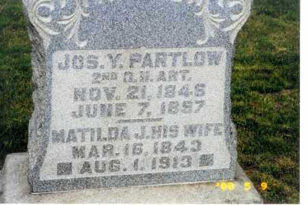 CARSEY PARTLOW, MATILDA - Meigs County, Ohio | MATILDA CARSEY PARTLOW - Ohio Gravestone Photos