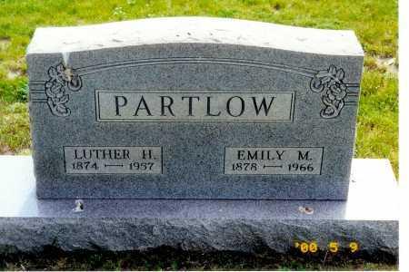 MILES PARTLOW, EMILY M. - Meigs County, Ohio | EMILY M. MILES PARTLOW - Ohio Gravestone Photos
