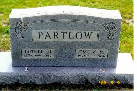PARTLOW, EMILY M. - Meigs County, Ohio | EMILY M. PARTLOW - Ohio Gravestone Photos