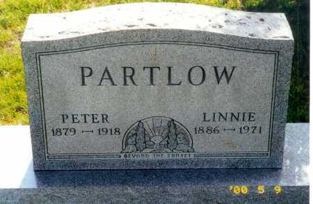 MYERS PARTLOW, LINNIE - Meigs County, Ohio | LINNIE MYERS PARTLOW - Ohio Gravestone Photos