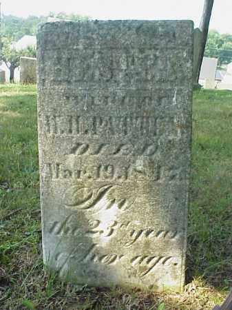PATTEN, HESTER - Meigs County, Ohio | HESTER PATTEN - Ohio Gravestone Photos