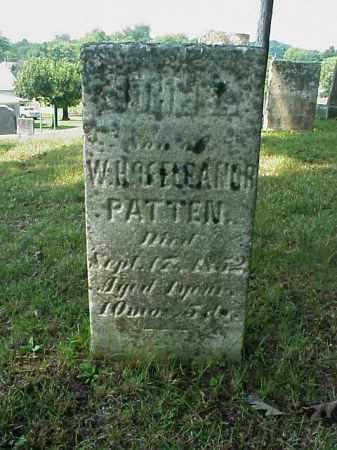 PATTEN, JOHN L. - Meigs County, Ohio   JOHN L. PATTEN - Ohio Gravestone Photos