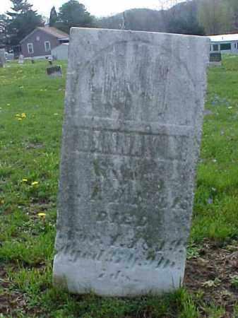 PAULK, HANNAH - Meigs County, Ohio | HANNAH PAULK - Ohio Gravestone Photos