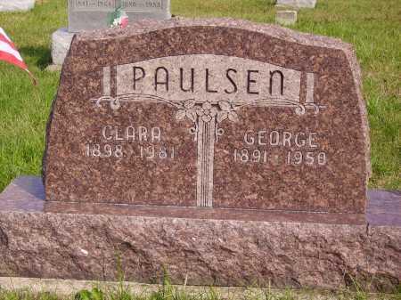 PAULSEN, CLARA - Meigs County, Ohio | CLARA PAULSEN - Ohio Gravestone Photos