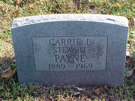 STEWART PAYNE, CARRIE B. - Meigs County, Ohio | CARRIE B. STEWART PAYNE - Ohio Gravestone Photos