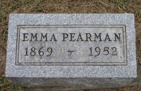PEARMAN, EMMA - Meigs County, Ohio   EMMA PEARMAN - Ohio Gravestone Photos
