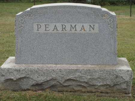 PEARMAN, FAMILY MONUMENT - Meigs County, Ohio | FAMILY MONUMENT PEARMAN - Ohio Gravestone Photos