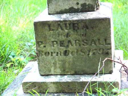 PEARSALL, LAURA - Meigs County, Ohio   LAURA PEARSALL - Ohio Gravestone Photos