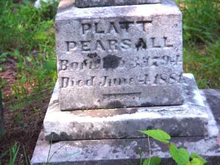 PEARSALL, PLATT - Meigs County, Ohio   PLATT PEARSALL - Ohio Gravestone Photos