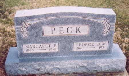 PECK, MARGARET F. - Meigs County, Ohio | MARGARET F. PECK - Ohio Gravestone Photos