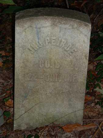 PEIRCE, JNO - Meigs County, Ohio | JNO PEIRCE - Ohio Gravestone Photos