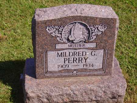 PERRY, MILDRED G. - Meigs County, Ohio | MILDRED G. PERRY - Ohio Gravestone Photos