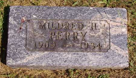 HALLIDAY PERRY, MILDRED H. - Meigs County, Ohio | MILDRED H. HALLIDAY PERRY - Ohio Gravestone Photos