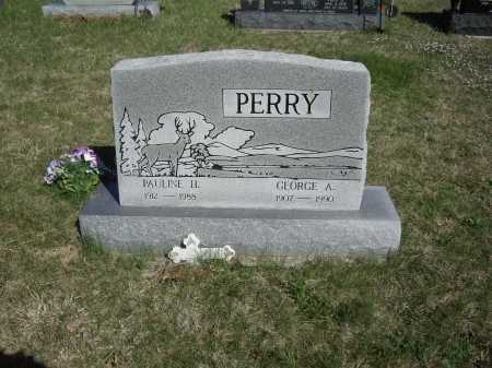 PERRY, PAULINE H. - Meigs County, Ohio | PAULINE H. PERRY - Ohio Gravestone Photos