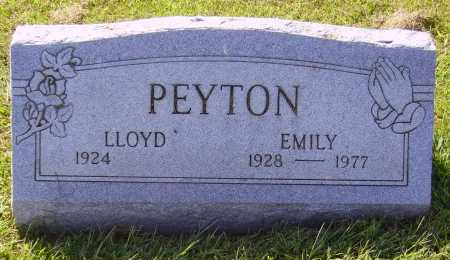 PEYTON, EMILY - Meigs County, Ohio | EMILY PEYTON - Ohio Gravestone Photos