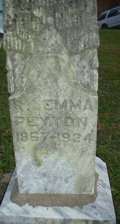 CARL PEYTON, R. EMMA - Meigs County, Ohio | R. EMMA CARL PEYTON - Ohio Gravestone Photos