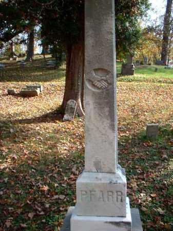 PFARR, H. - Meigs County, Ohio | H. PFARR - Ohio Gravestone Photos