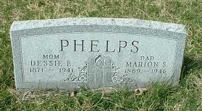 PHELPS, MARION SAMEUEL - Meigs County, Ohio | MARION SAMEUEL PHELPS - Ohio Gravestone Photos