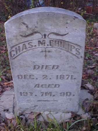 PHILIPS, CHAS. M. - Meigs County, Ohio | CHAS. M. PHILIPS - Ohio Gravestone Photos