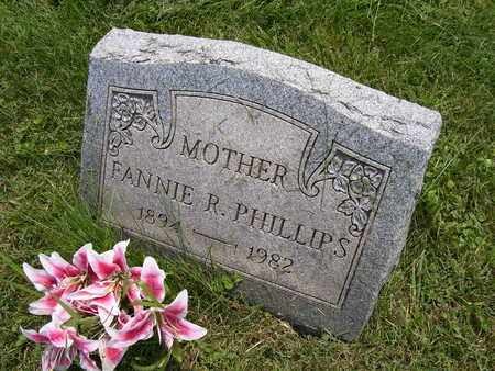 PHILLIPS, FANNIE R. - Meigs County, Ohio | FANNIE R. PHILLIPS - Ohio Gravestone Photos