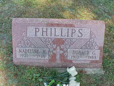 PHILLIPS, DONALD G. - Meigs County, Ohio | DONALD G. PHILLIPS - Ohio Gravestone Photos